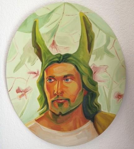 Llama Jesus