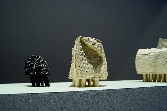 Susan Robey Inhabit Solo Ceramics Exhibition Craft Vistoria Gallery Melbourne