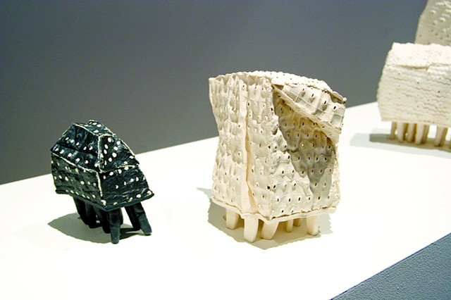 Susan Robey Inhabit Solo Ceramics Exhibition Craft Victoria Gallery Melbourne