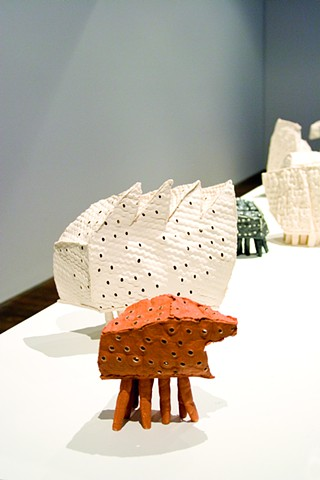 Susan Robey Inhabit Solo Exhibition Craft Victoria Gallery Melbourne