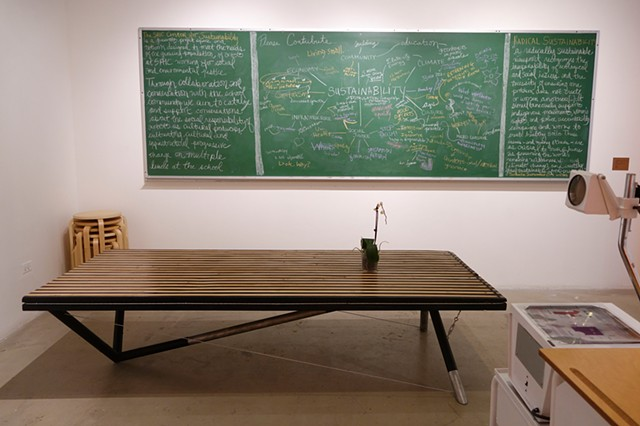 SAIC Center for Sustainability - Collective Chalkboard