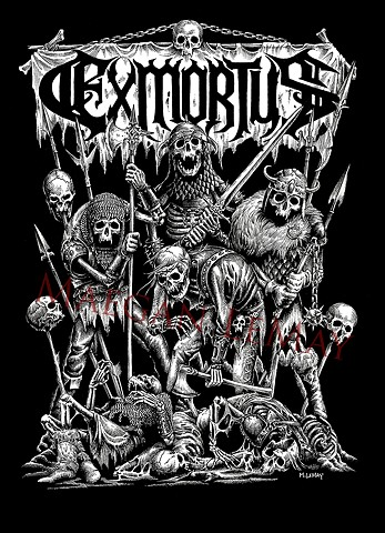 Exmortus T-shirt