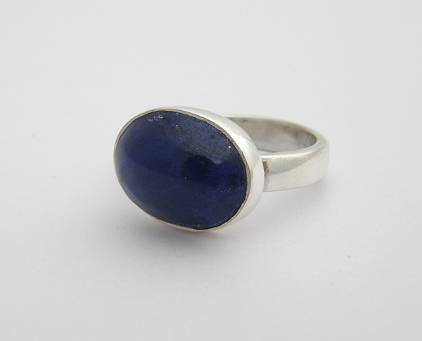 Subtle and Clean.  Just Sterling and Lapis