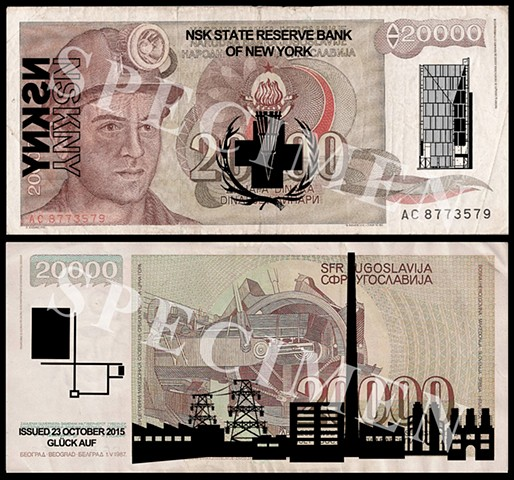 NSK State Reserve Bank of New York: Currency Series 7 (Collaboration with Charles Lewis)