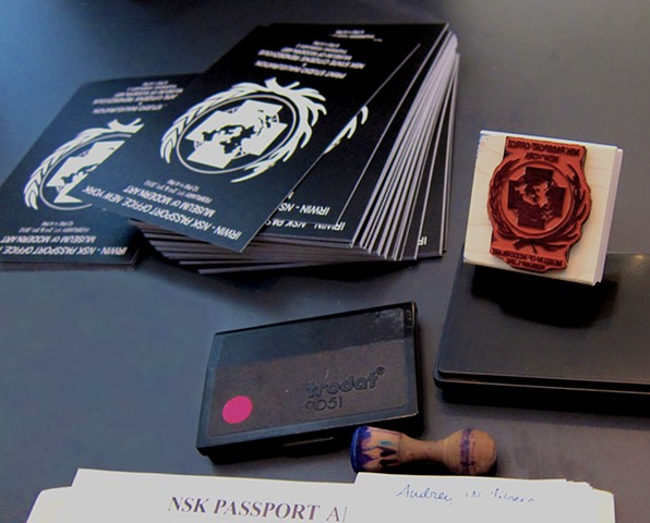 Designs for NSK Passport Office New York, Museum of Modern Art
