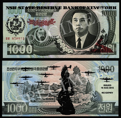 NSK State Reserve Bank of New York: Currency Series 6 (Collaboration with Charles Lewis)