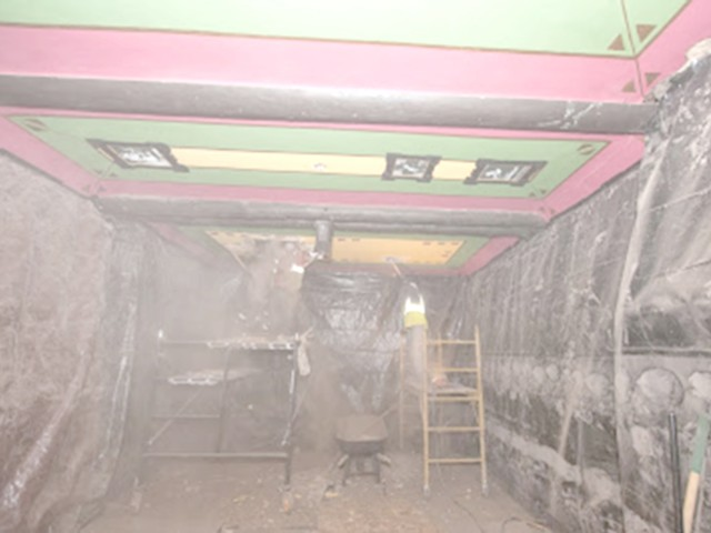 Demolition of Ceiling Installation (Style of IRWIN Live)