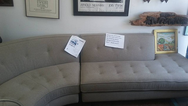 Mid-Century Sectional Sofa
