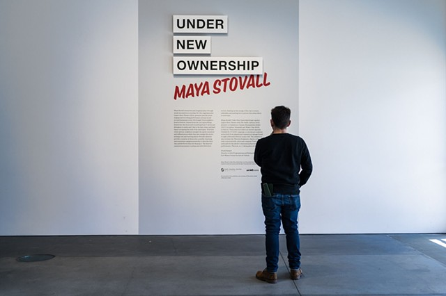 San Francisco Art Institute & Fort Mason present Maya Stovall: Under New Ownership (General Theory of Historical Materialist Critique remix) talk