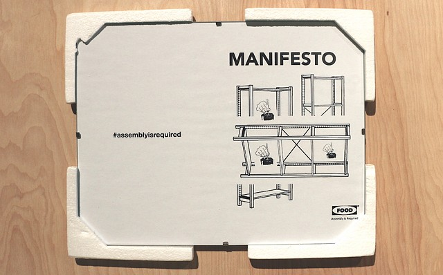 Assembly Is Required: MANIFESTO FOOD Zine
