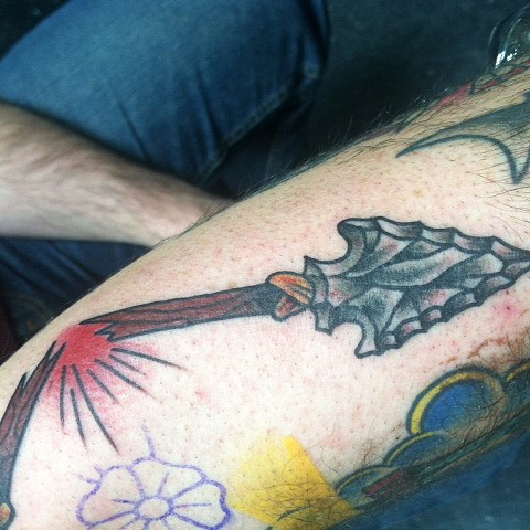 arrow  havertown electric tattoo and piercing Tattoos by Brian Patton