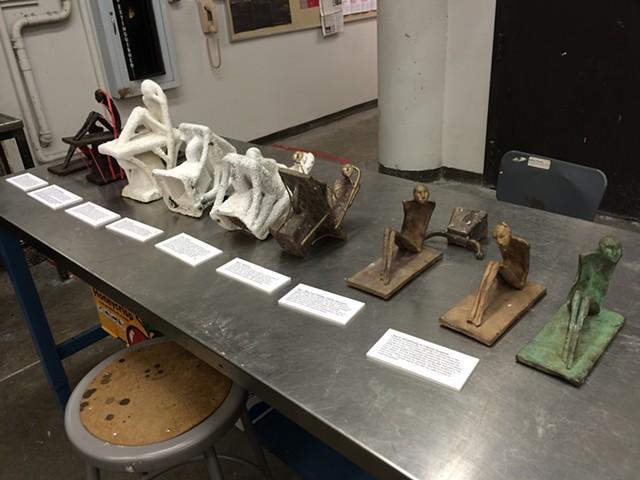 Cast bronze examples