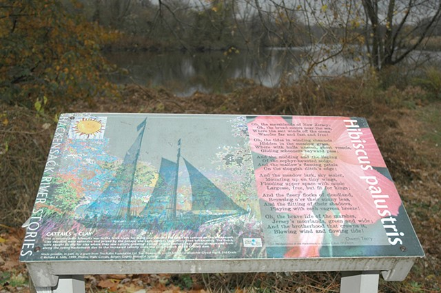 Hackensack River Stories Project/ Environmental art