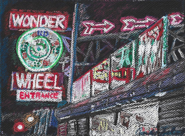 Wonder Wheel Neon Coney Island