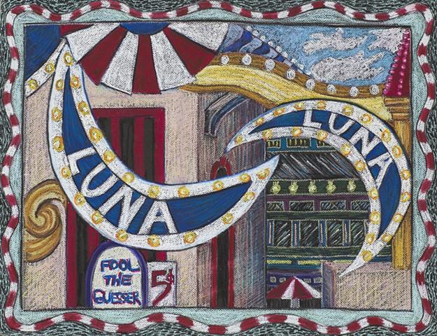 Vintage Luna Park Coney Island