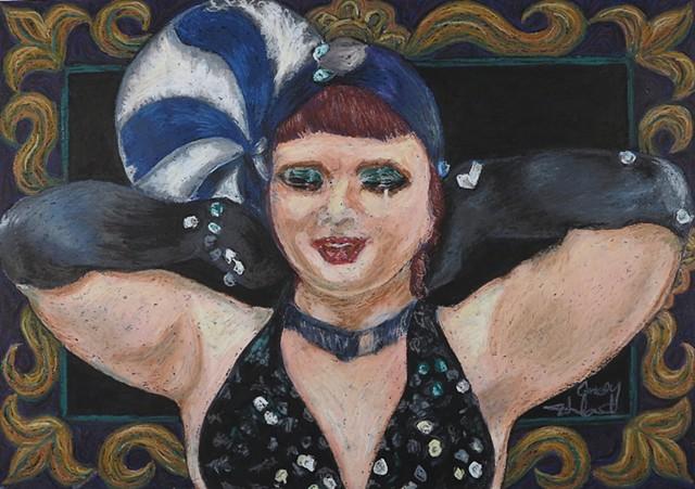 Betsey Propane Burlesque Coney Island USA