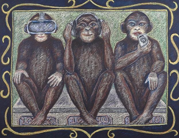 No longer wise monkeys