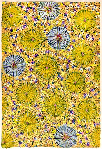 yellow, bright, sunshine, cheerful, decorative, pattern