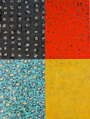 black, red, deep yellow, blue, glitter, abstract,