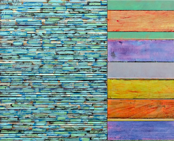 blues, multicolor, stripes, paper, canvas