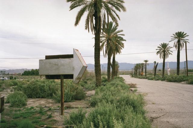 Arrow: Salton Sea