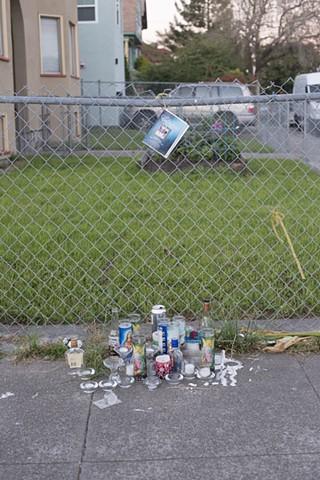 Tony's memorial