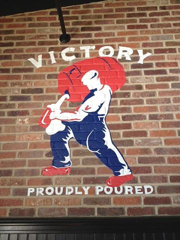 Victory Mural at PJ Whelihan's