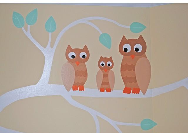 Owls (detail)