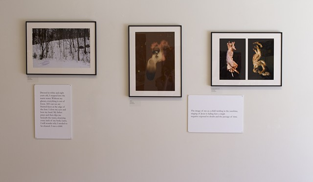 Installation view of Doubts, Ball State University
