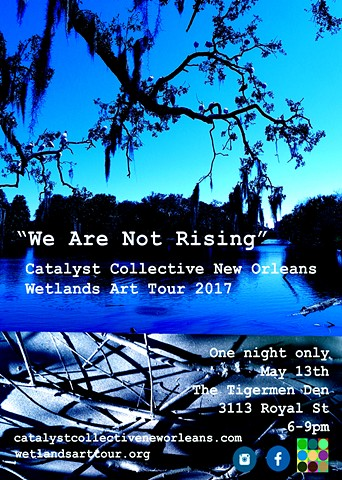 Wetlands Art Tour Promo Flyer