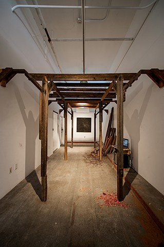American Gothic, Red Barn Project Space