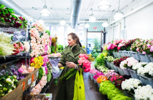 MARKET TO MARKET nyc flower District