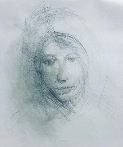 Drawing.  Artist:  Carol Fay.