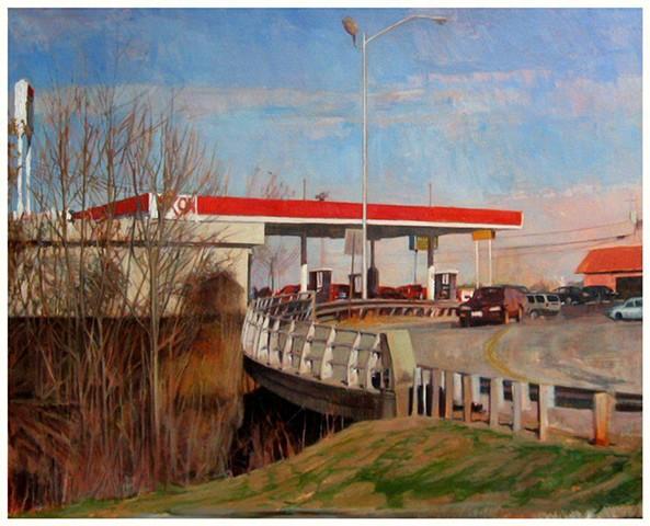 'Exxon Station At Exit 7'