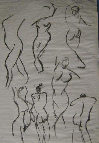Figure Drawing Study