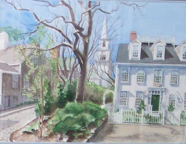 Nantucket side street