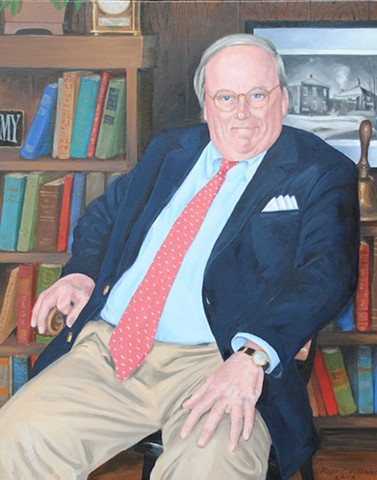 Portrait of headmaster