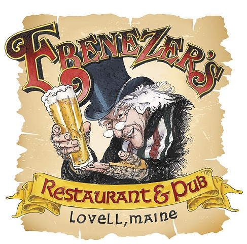 Logo for Ebenezer's Pub