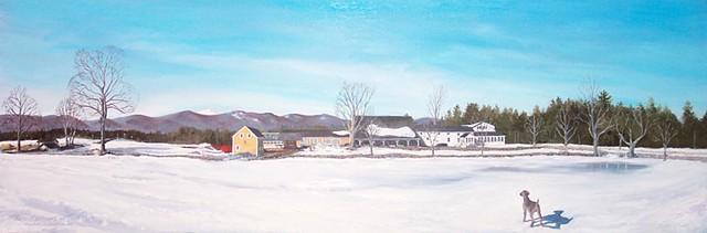 Eastman Hill in Winter