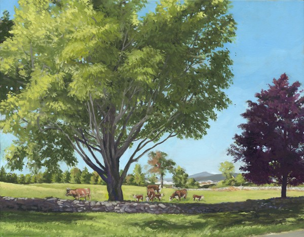 """Eastman Hill with Cows"""