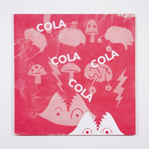 cola, painting, interior design, interior decorating, contemporary art