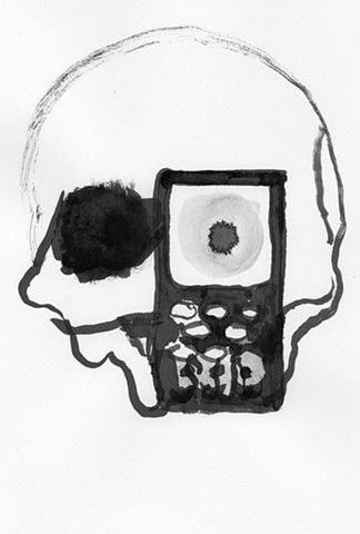 Untitled (eye phone)