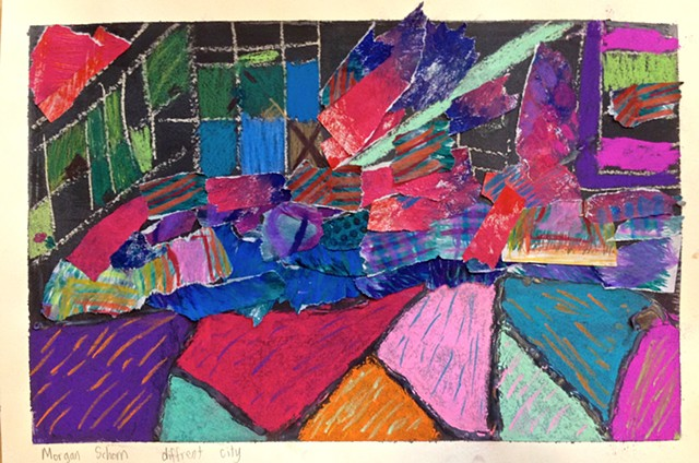 David Hockney, Art Classes for Kids, Collage