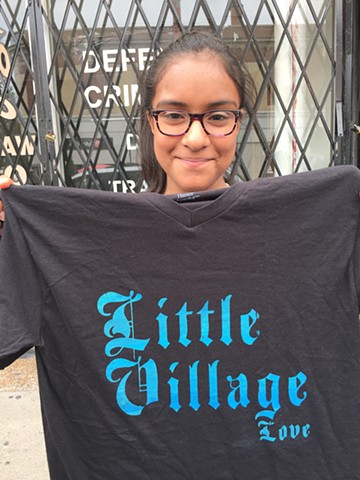 Little Village T-Shirt Street Workshop