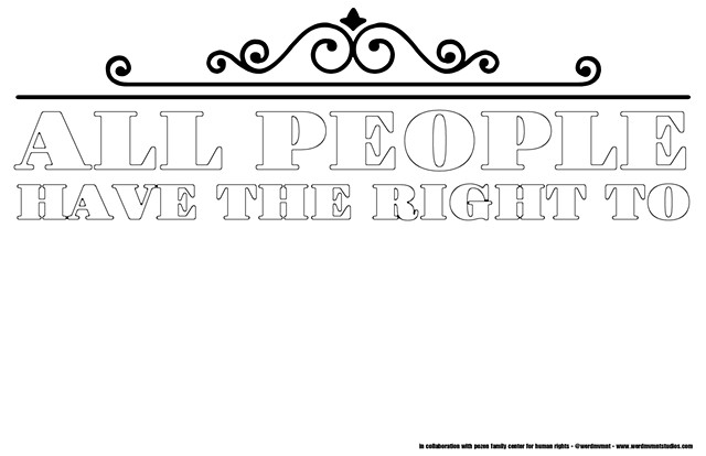 All People Have The Right To