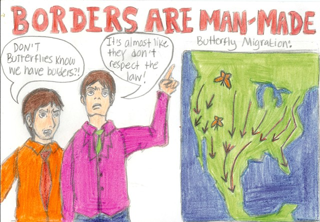 Borders Are Man Made