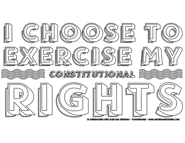 I Choose To Exercise My Constitutional Rights