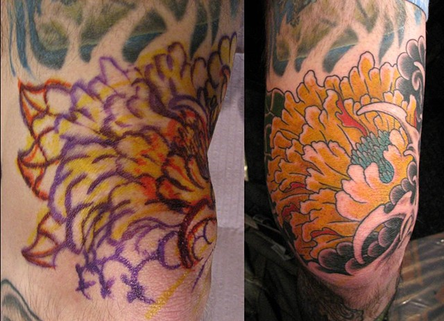 Freehand Convention Peony