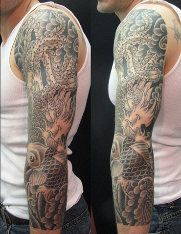 Custom Traditional Japanese Sleeve Oklahoma