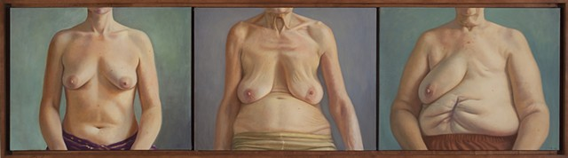 Breast Portrait Triptych